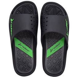 Bay VI Ad Sandals (Black/Grey) image here