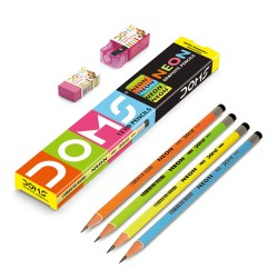 DOMS Neon Round HB Pencil by 12's image here