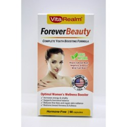 Vitarealm Forever Beauty Vitamins Supplement image here