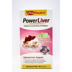 Vitarealm Power Liver Vitamins Supplement image here