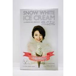 Retailmnl Snow White Ice Cream Whitening Facial Mask Set of 10 image here