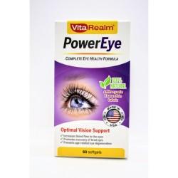 Vitarealm Power Eye Health Formula Supplement Vitamins image here