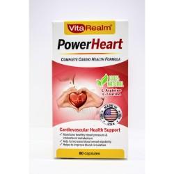 Vitarealm Power Heart Cardio Health Formula Vitamins Supplement image here