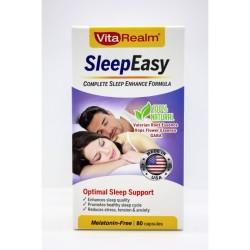 Vitarealm Sleep Easy Enhance Formula Vitamins Supplement image here