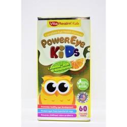 Vitarealm Power Eye Kids Chewable Vitamins Supplement image here