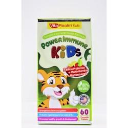 Vitarealm Power Immune Kids Chewable Vitamins Supplement image here