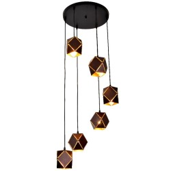 KF 8239-6P METAL HANGING LAMP image here