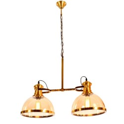 6009-2GAB-48 GLASS HANGING LAMPS image here