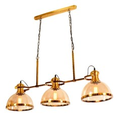 6009-3GAB GLASS HANGING LAMPS image here