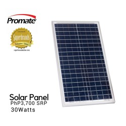 Promate Solar Panel 30watts image here
