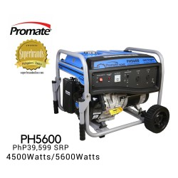 Promate PH5600 Gasoline Generator image here