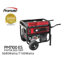 Promate PM7100 ES Gasoline Generator image here