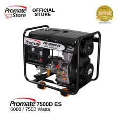 Promate PM7500D ES Diesel Generator black image here