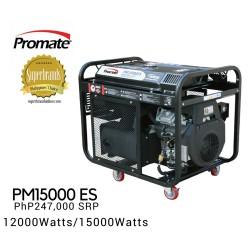 Promate PM15000 ES Gasoline Generator image here