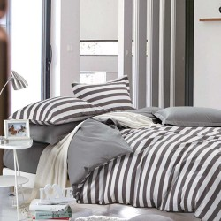 Queen Size 3 in 1 Printed Beddings Zebra image here