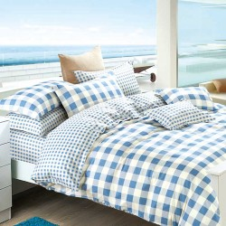 Single Size 3 in 1 Printed Beddings Ocean image here