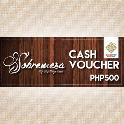 PHP500 WORTH VOUCHER image here