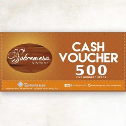 PHP500 SOBREMESA WORTH VOUCHER image here