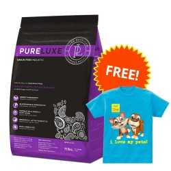 PureLuxe, Elite Nutrition for Small Breed Dogs  + Pet One Shirt,PetOne 18 image here