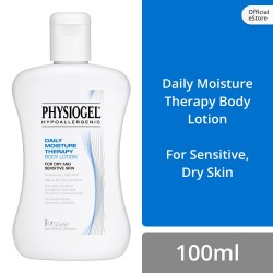 Physiogel Daily Moisture Therapy Body Lotion 100ml for Dry, Sensitive Skin (Set of 3),522A4358341MT.3 image here