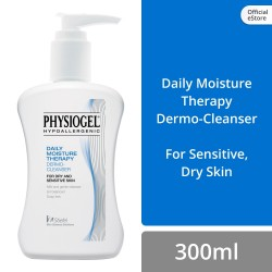 Physiogel Daily Moisture Therapy Cleanser 300ml for Dry, Sensitive Skin (Set of 3),60000000102120.3 image here