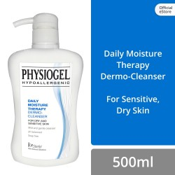 Physiogel Daily Moisture Therapy Cleanser 500ml for Dry, Sensitive Skin (Set of 2) image here