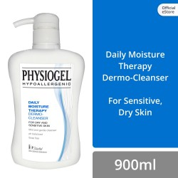 Physiogel Daily Moisture Therapy Cleanser 900ml for Dry, Sensitive Skin (Set of 2) image here