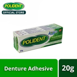 Polident 3D Hold Fresh Mint Denture Adhesive Cream 20g image here