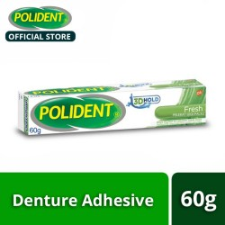 Polident 3D Hold Fresh Mint Denture Adhesive Cream 60g,124460 image here