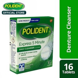 Polident Denture Cleanser Tablets 16's,40799 image here