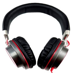 MyConcept,MC-015H MyConcept Headphone w/microphone (Red),red,MC-015H RED image here