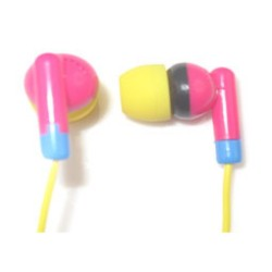 MC-007E MyConcept Earphone w/ microphone (BLUE/PURPLE) image here