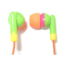 MC-007E MyConcept Earphone w/ microphone (YELLOW/GREEN) image here