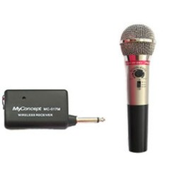 MyConcept,MC-017M MyConcept Echo Wireless Microphone,black,MC-017M Echo Wireless Microphone image here