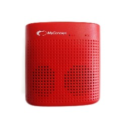MC-027S RED MyConcept Bluetooth Speaker image here