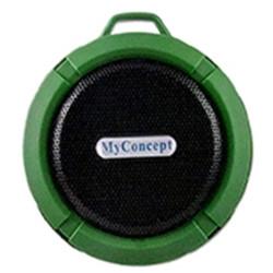 MC-015S GREEN BLUETOOTH SPEAKER image here