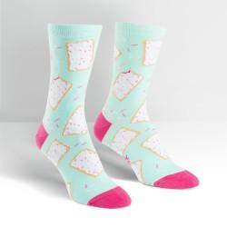 Toe-ster Pastry Women's Crew Socks image here