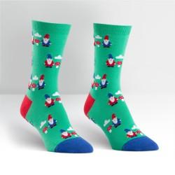Gnome & Mushroom Women's Crew Socks image here