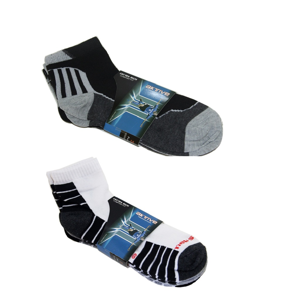 Aktive Sports Socks Bundle of 2 (2D) image here