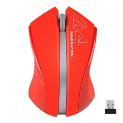 A4Tech,A4Tech G3-310N Wireless 2.4G Optical Mouse,red,G3-310N image here