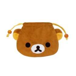 Rilakkuma, Drawstring Purse, Brown, CS34801 image here