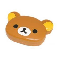 Rilakkuma Face-Shaped Bento Lunch Box (KY12701) image here