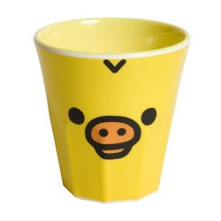 Rilakkuma,Kiiroitori Melamine Cup,yellow,KY24601 image here