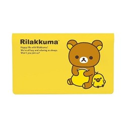 Rilakkuma, Cash Book Cover, Yellow, BK25201 image here