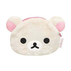 Rilakkuma, Korilakkuma face-shaped coin purse, CK46801 image here