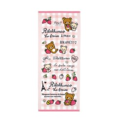 Rilakkuma, Strawberry of Paris Face Towel, CM56201 image here