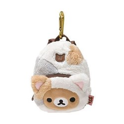 Rilakkuma Cat Themed Backpack Pouch image here