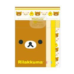 Rilakkuma Quad Letter Set (LH53101) image here