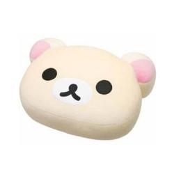 Rilakkuma,Korilakkuma Face Soft Plush Pillow Cushion L (MP80101) image here