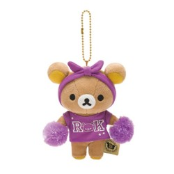 Rilakkuma, Cheerleader Hanging Plush, Purple, MR09101 image here